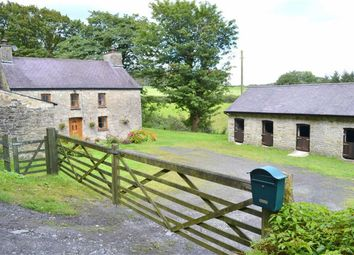Thumbnail 4 bed farm for sale in Talgarreg, Llandysul, Ceredigion