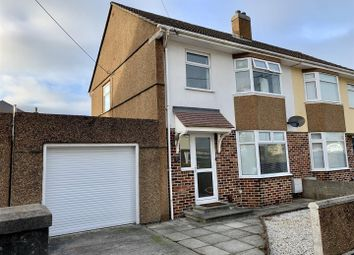 Thumbnail 3 bed semi-detached house for sale in Thornyville Villas, Oreston, Plymouth
