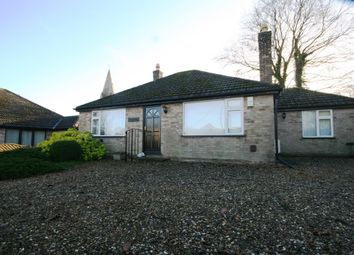 Thumbnail 3 bed detached bungalow for sale in New Road, Ryhall, Stamford