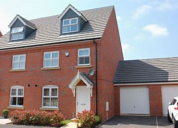 Thumbnail 3 bed town house for sale in Carr Road, Moulton, Northampton