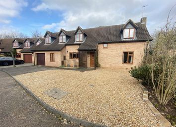 Thumbnail 4 bed detached house for sale in Crabapple Green, Orton Wistow, Peterborough