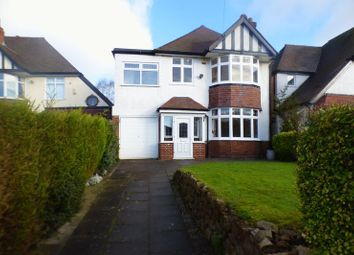 Thumbnail 4 bed detached house for sale in Bournbrook Road, Selly Oak, Birmingham