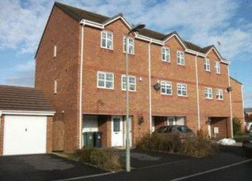 Thumbnail 4 bed terraced house to rent in Stuart Way, Market Drayton