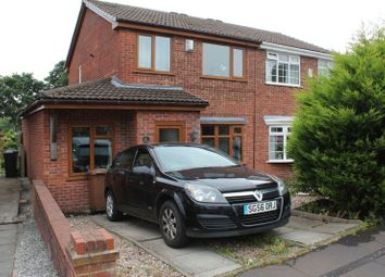 Thumbnail 4 bed semi-detached house for sale in Thimble Close, Wardle, Rochdale