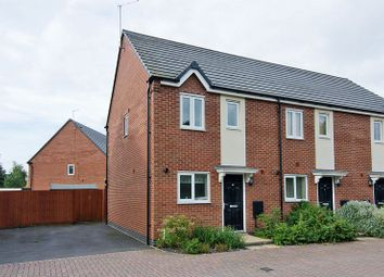 Thumbnail 2 bed semi-detached house for sale in St Thomas Way, Hawksyard, Rugeley
