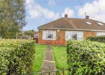 Thumbnail 2 bed semi-detached bungalow for sale in Riplingham Road, Skidby, East Riding Of Yorkshire