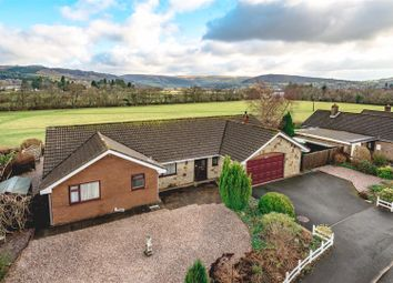 Thumbnail 4 bed detached bungalow for sale in Parc Yr Irfon, Builth Wells