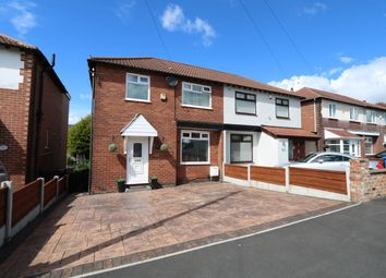 Thumbnail 3 bed semi-detached house for sale in The Quadrant, Offerton, Stockport
