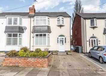 Thumbnail 3 bed semi-detached house for sale in Norman Avenue, Harborne, Birmingham