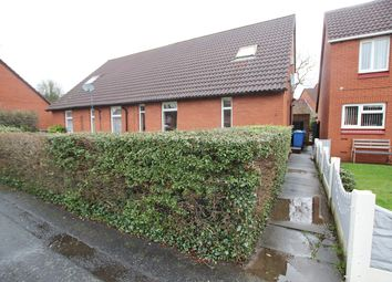 Thumbnail 2 bed semi-detached house for sale in Libson Close, Fearnhead, Warrington