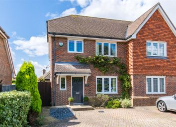 Thumbnail 3 bed semi-detached house for sale in Broad Oak, Buxted, Uckfield