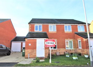 Thumbnail 3 bed semi-detached house for sale in Griffin Road, New Ollerton, Newark