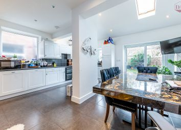 Thumbnail 4 bed semi-detached house for sale in Countisbury Avenue, Bush Hill Park, Enfield
