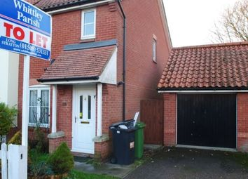 Thumbnail 2 bed semi-detached house to rent in Millers Drive, Dickleburgh, Diss