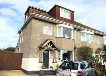 Thumbnail 5 bed semi-detached house for sale in Mossley Avenue, Wallisdown, Poole, Dorset