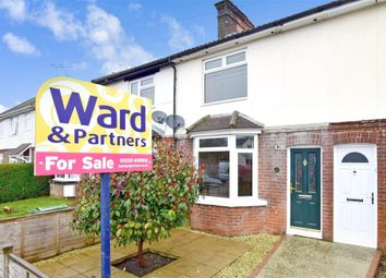 Thumbnail 3 bed terraced house for sale in Glover Road, Willesborough, Ashford, Kent