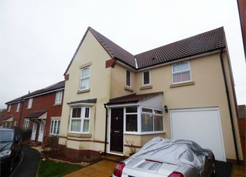 Thumbnail 4 bedroom detached house for sale in Fowen Close, Street, Somerset