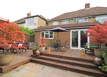 Staines Lane, Chertsey, Surrey KT16. 4 bed semi-detached house