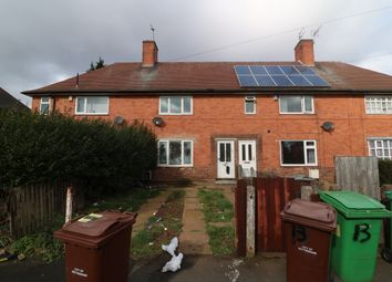 Thumbnail 3 bed terraced house for sale in Bidford Road, Nottingham