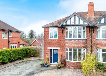 Thumbnail 3 bed semi-detached house for sale in Copthorne Road, Shrewsbury