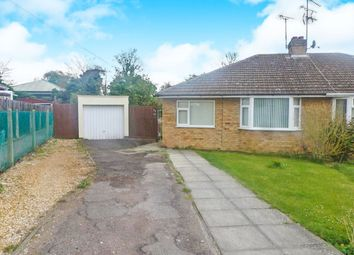 Thumbnail 2 bed semi-detached bungalow for sale in Harvey Road, Wellingborough
