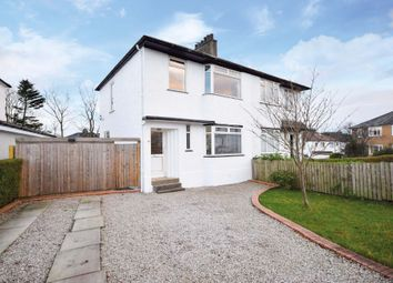 Thumbnail 3 bed property for sale in Heathwood Drive, Thornliebank, Glasgow