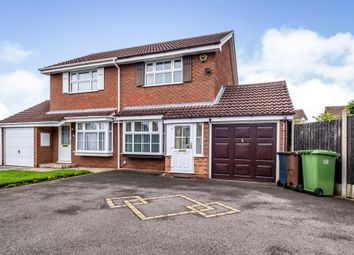 Thumbnail 2 bed semi-detached house for sale in Blaythorn Avenue, Solihull