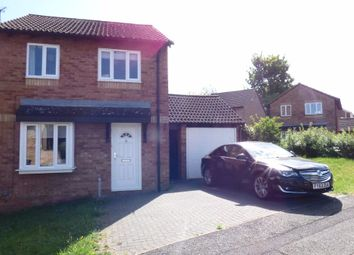 Thumbnail 3 bed detached house for sale in Oakleigh Drive, Northampton