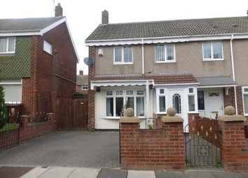 Thumbnail 2 bed end terrace house for sale in Marlowe Road, Hartlepool