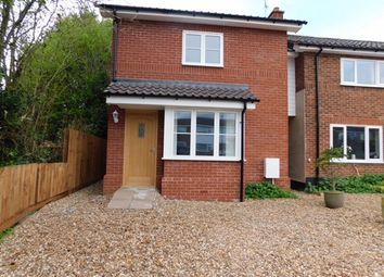 Thumbnail 3 bed link-detached house for sale in Pound Hill, Bacton, Stowmarket
