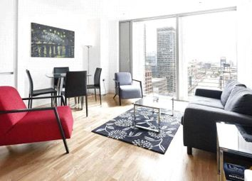 Thumbnail 1 bed flat to rent in Landmark East, Marsh Wall, Canary Wharf, London