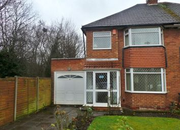 Thumbnail 3 bed semi-detached house for sale in Kendrick Road, Sutton Coldfield