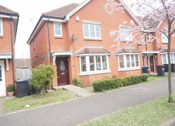 Thumbnail 3 bed end terrace house for sale in Purdom Road, Welwyn Garden City