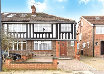 Thumbnail 3 bedroom semi-detached house for sale in George V Avenue, Pinner, Middlesex