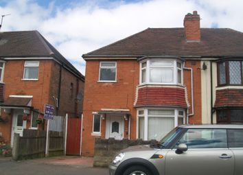 Thumbnail 3 bedroom semi-detached house for sale in Coombe Road, Perry Barr