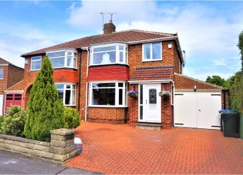 Thumbnail 3 bed semi-detached house for sale in Newham Crescent, Middlesbrough