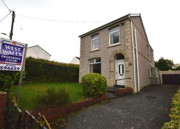 Thumbnail 3 bed detached house for sale in Bryncethin Road, Garnant, Ammanford