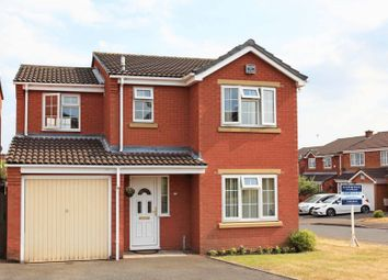 Thumbnail 4 bed detached house for sale in Hazelwood Drive, Telford