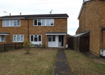 Thumbnail 3 bed terraced house to rent in Therfield Walk, Houghton Regis, Dunstable