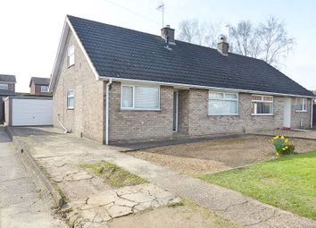 Thumbnail 3 bed semi-detached bungalow for sale in Allan Avenue, Stanground, Peterborough