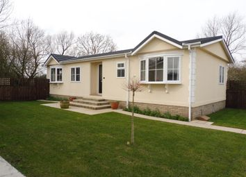 Thumbnail 3 bed mobile/park home for sale in Cambridge Road, Stretham, Ely