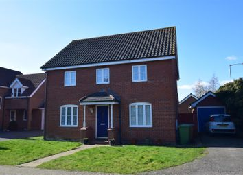 Thumbnail 4 bed detached house for sale in Holly Blue Road, Wymondham