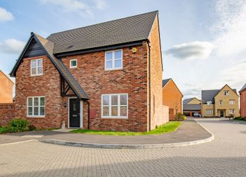 Thumbnail 4 bed detached house for sale in Honeysuckle Way, Ambrosden, Bicester