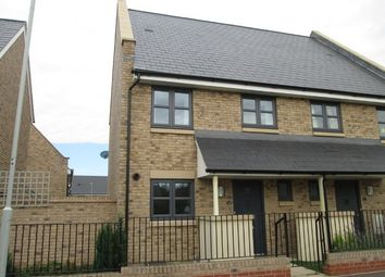 Thumbnail 3 bed semi-detached house to rent in Stone Hill, St Neots