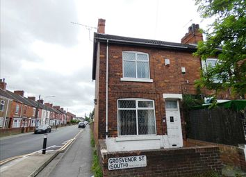 Thumbnail 2 bed end terrace house for sale in Grosvenor Street, Scunthorpe
