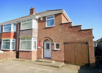 Thumbnail 3 bed semi-detached house for sale in Plas Newton Lane, Chester