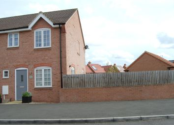 Thumbnail 3 bed end terrace house to rent in Long Breech, Mawsley, Kettering, Northamptonshire