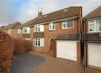 Thumbnail 5 bed semi-detached house for sale in Hallam Grange Rise, Sheffield