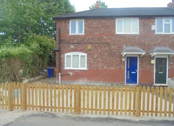 Thumbnail 3 bed semi-detached house for sale in Hexham Road, Manchester