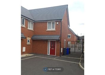 Thumbnail 2 bed semi-detached house to rent in Great Lake Close, Manchester